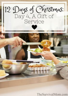 The 12 Days of Christmas: Day 4, A gift of service