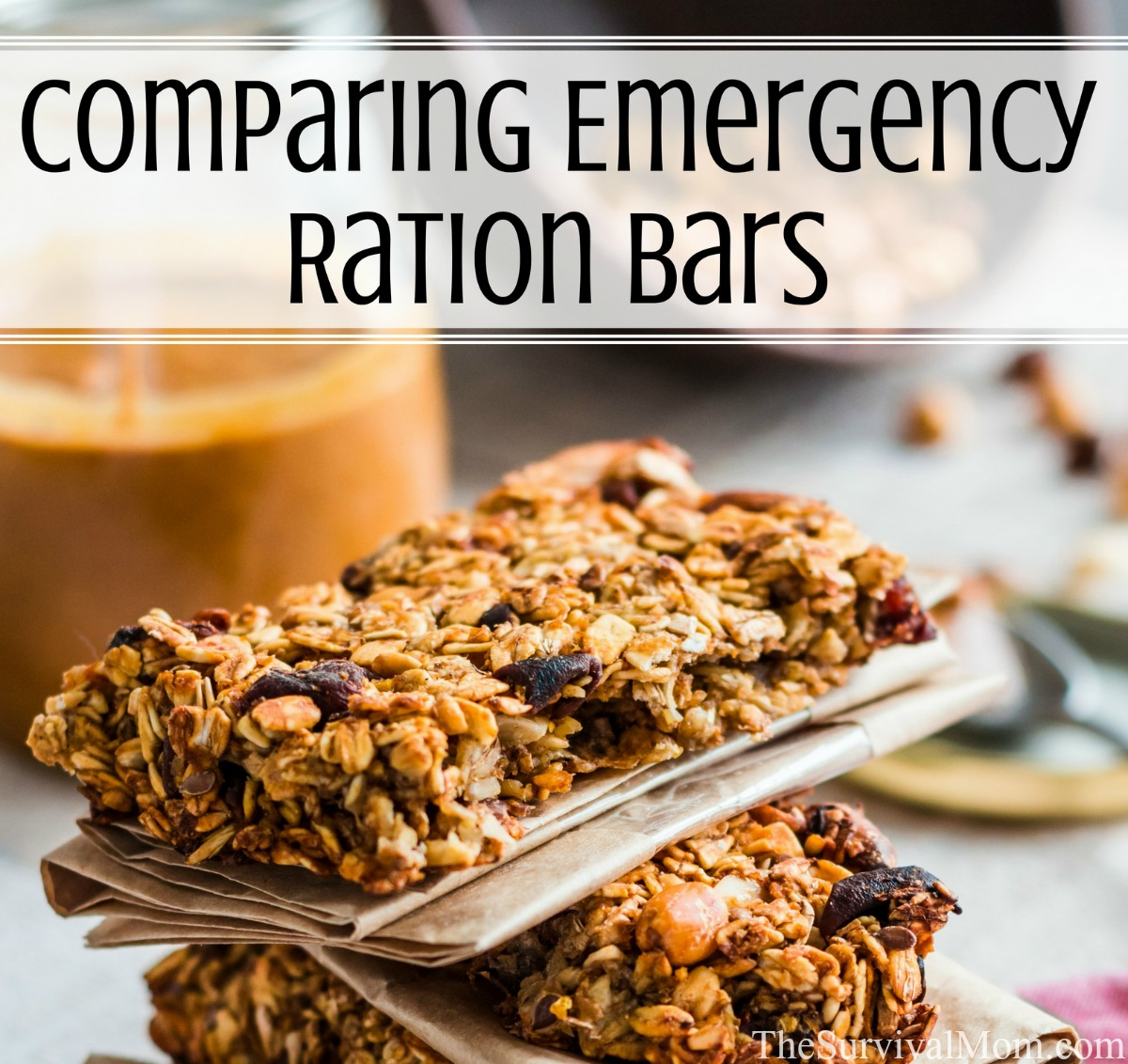 comparing emergency rations bars