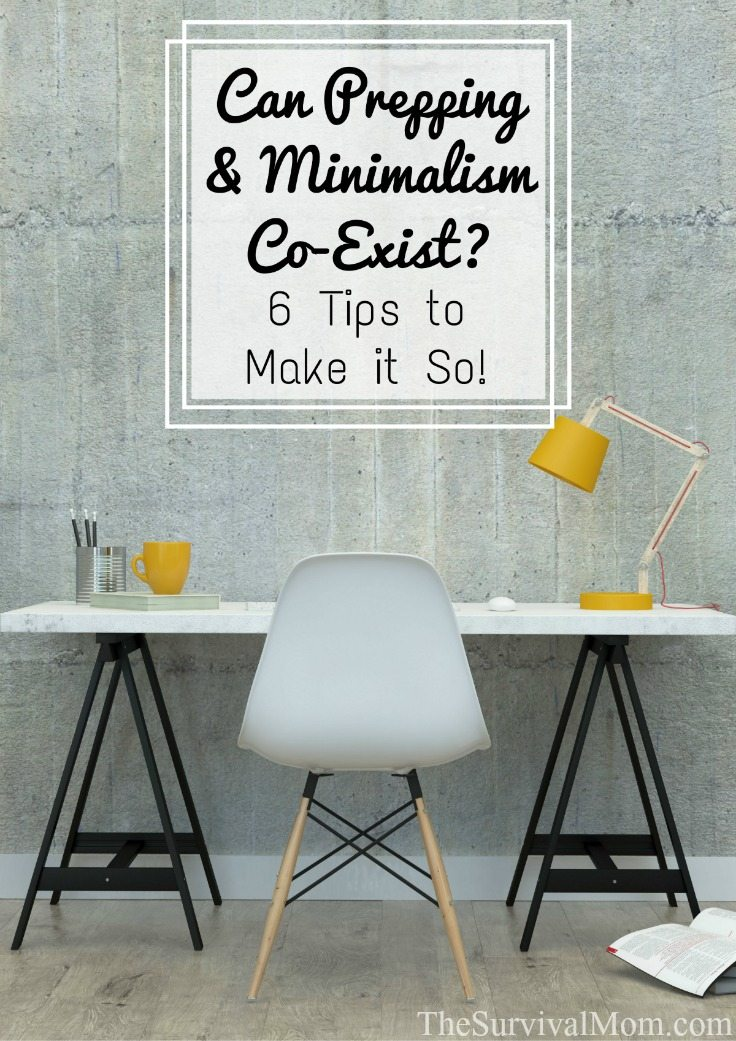 Can Prepping & Minimalism Co-Exist? 6 Tips to Make It So!