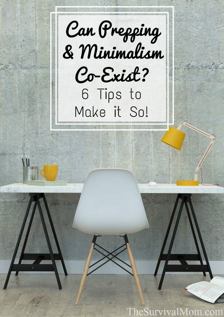 prepping-vs-minimalism