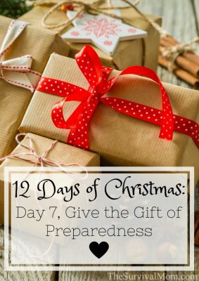 12 Days of Christmas: Day 7, Give the Gift of Preparedness