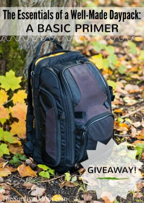 The Essentials of a Well-Made Daypack & GIVEAWAY!