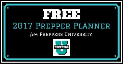 FREE 2017 Prepper Planner!