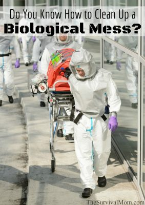 biological mess