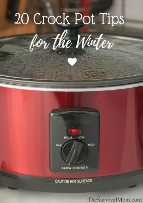 20 Crock Pot Tips for the Winter