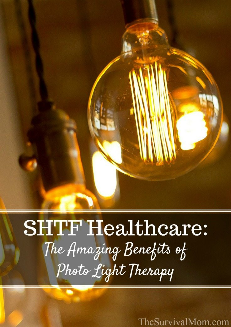SHTF Healthcare The Amazing Benefits of Photo Light Therapy via The Survival Mom