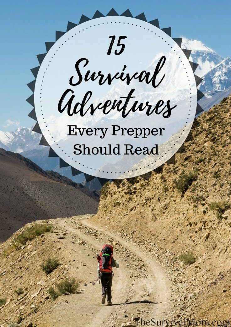 survival adventure books