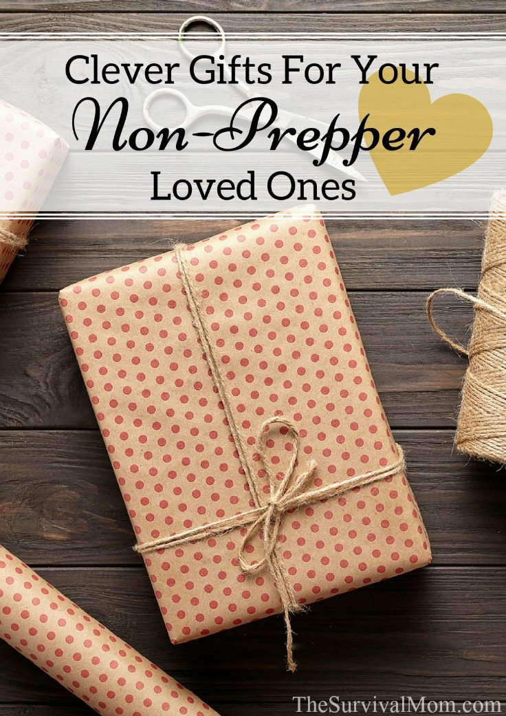 Clever Gifts For Your Non-Prepper Loved Ones via The Survival Mom