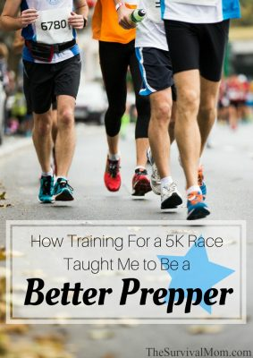 How Training For a 5K Race Taught Me To Be a Better Prepper