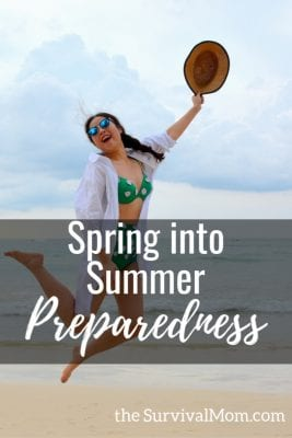 With summer a few weeks away, what can we do to start our summer preparedness. Lets take full advantage of the warm, sunny days ahead.