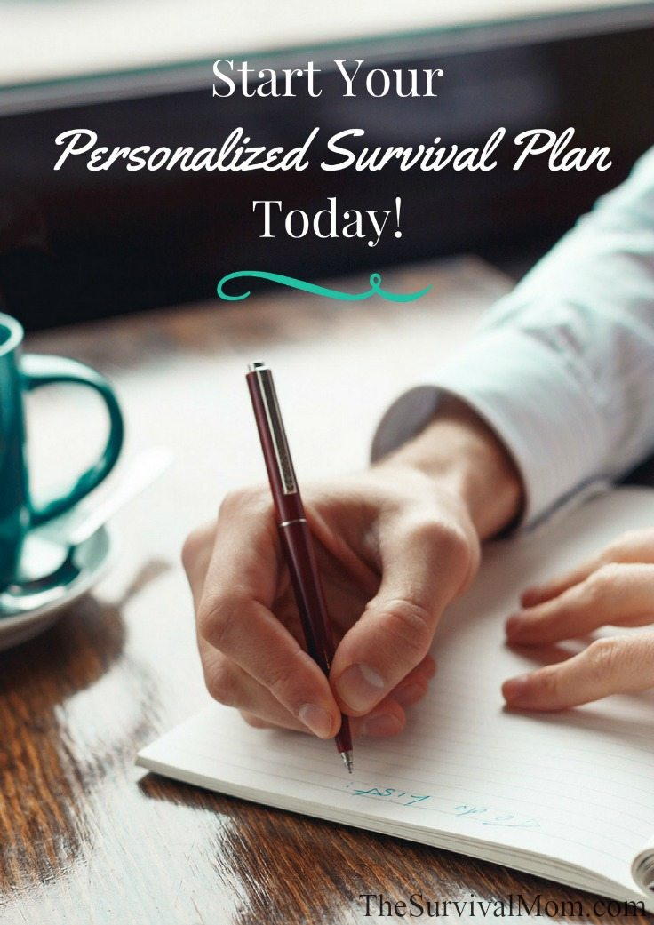 Start Your Personalized Survival Plan Today via The Survival Mom