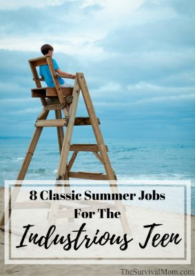 8 Classic Summer Jobs For the Industrious Teen
