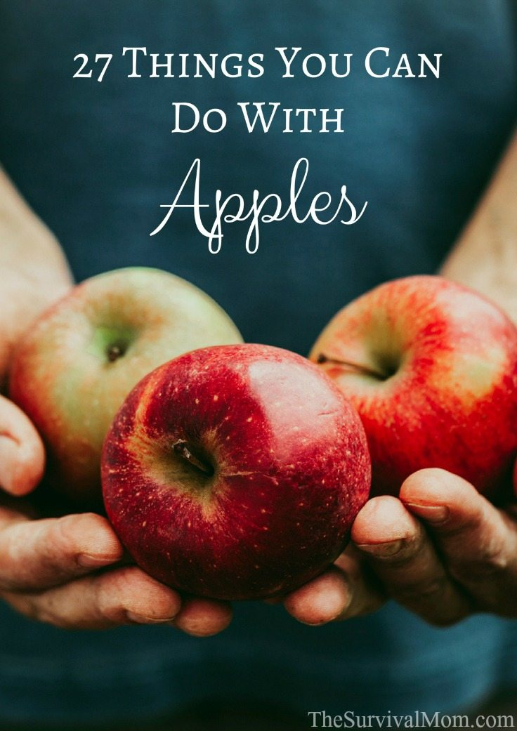 27 Things You Can Do With Apples via The Survival Mom