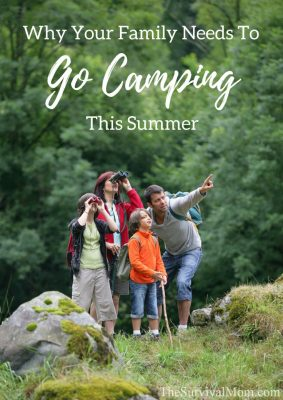 Why Your Family Needs To Go Camping This Summer