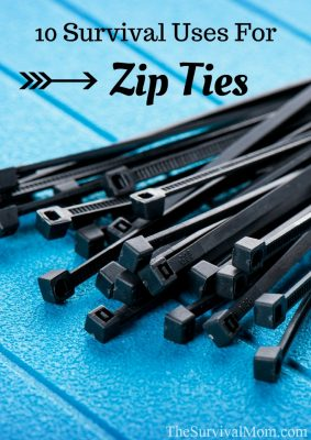 10 Survival Uses for Zip Ties