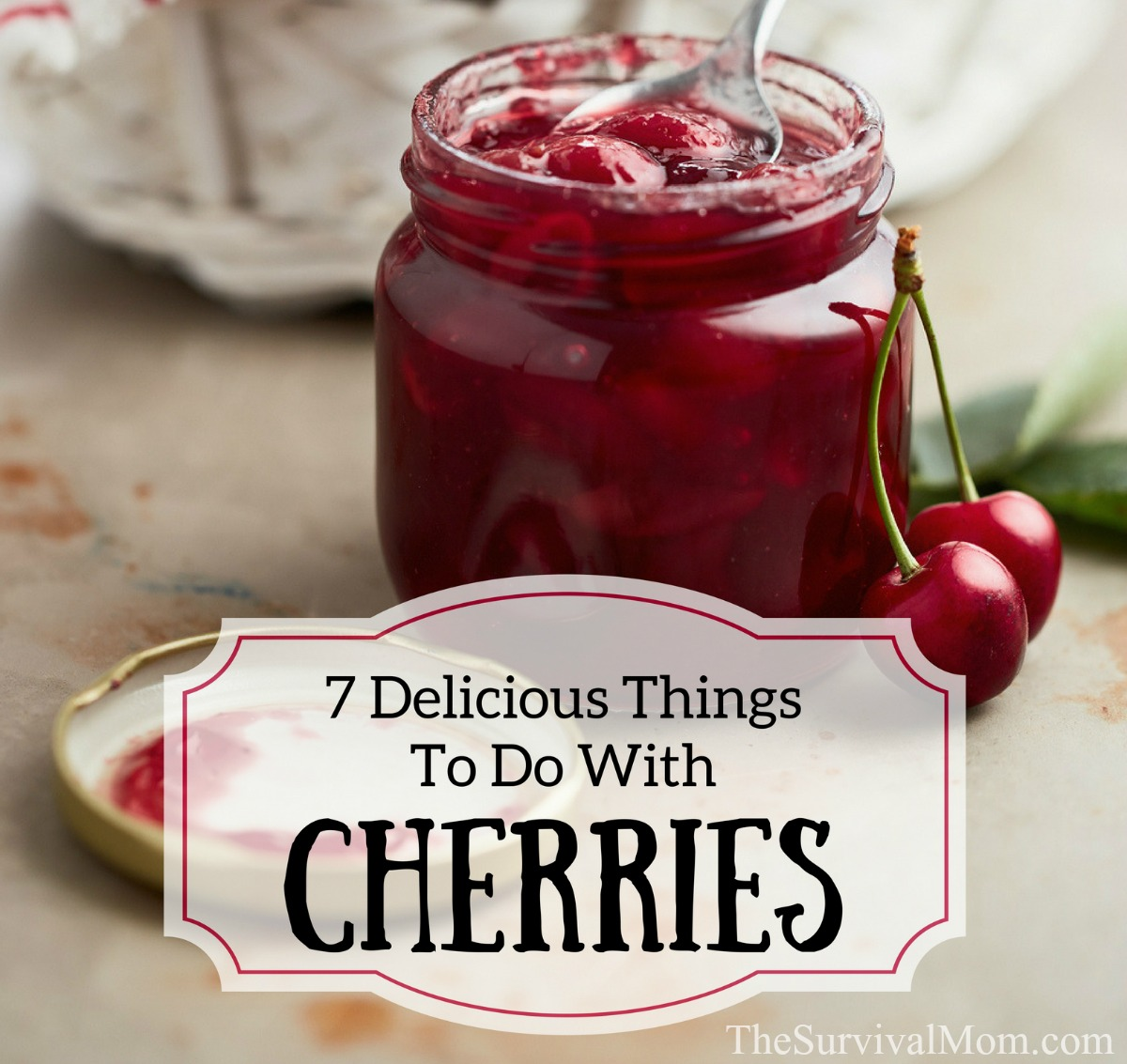 Sweet cherry jam: Top 7 delicious recipes for the winter 19