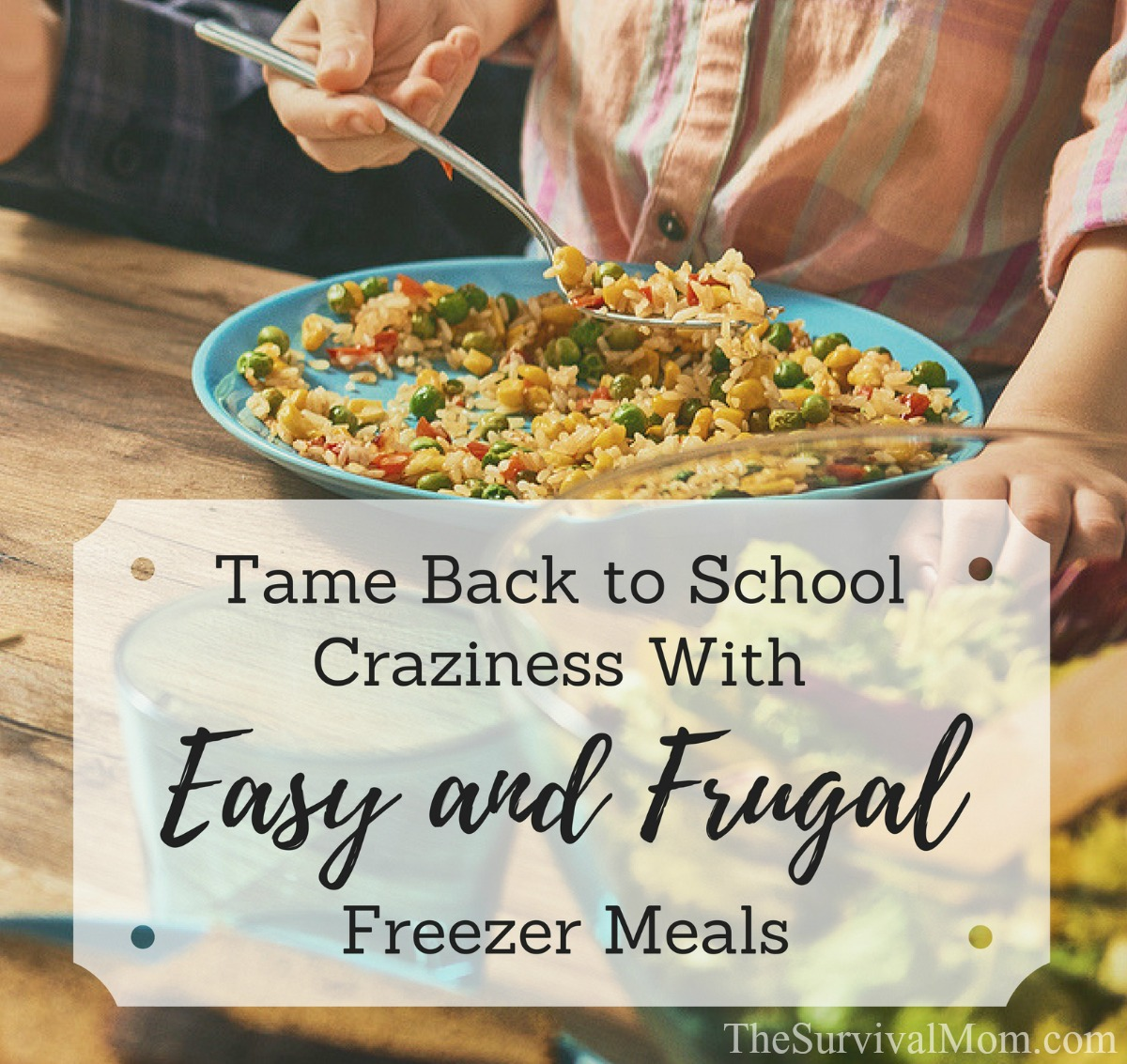 how to make freezer meals tips