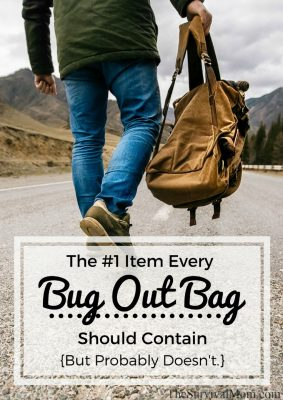 The #1 Item Every Bug Out Bag Should Contain — But Probably Doesn't