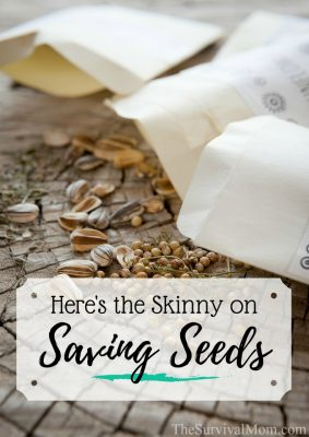 Here's the Skinny On Saving Seeds