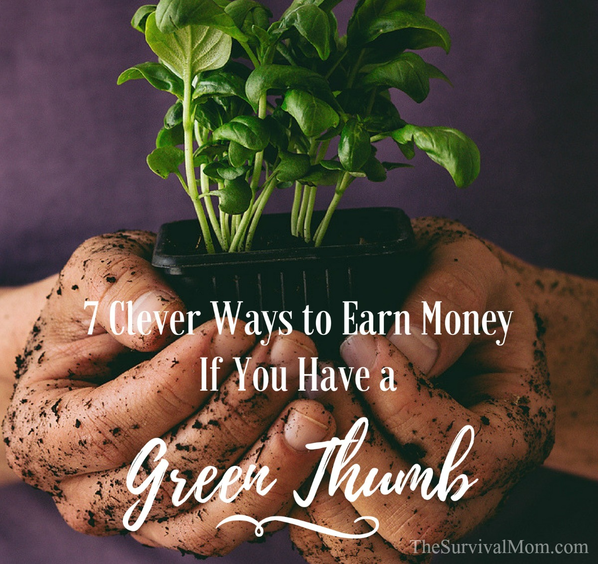 earn money with a green thumb