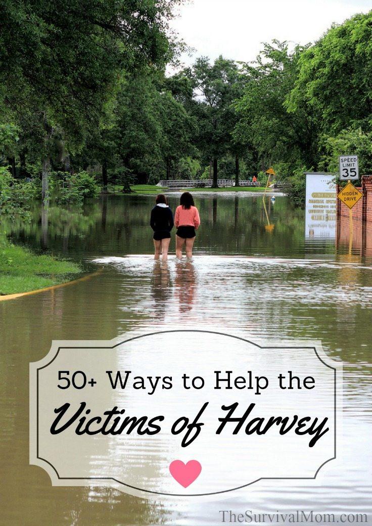 ways to help harvey victims