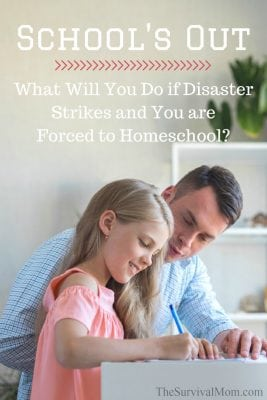 School's Out: What Will You Do if Disaster Strikes and You are Forced to Homeschool?