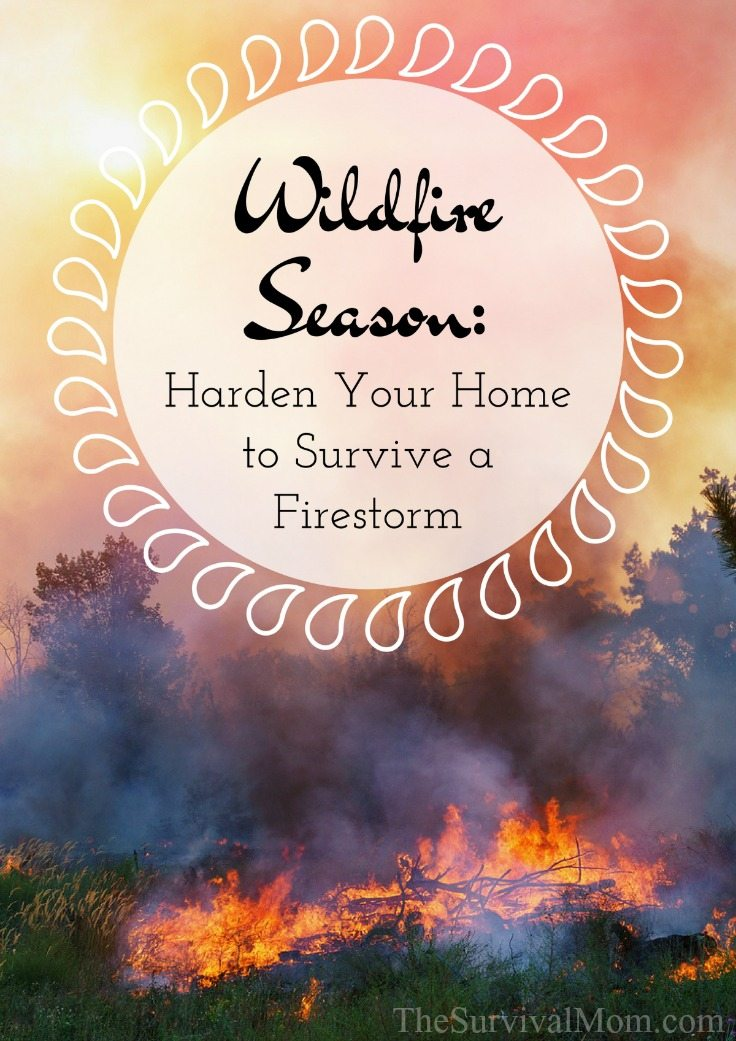 Wildfire Season Harden Your Home to Survive a Firestorm via The Survival Mom