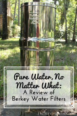 Pure Water, No Matter What: A Review of Berkey Water Filters