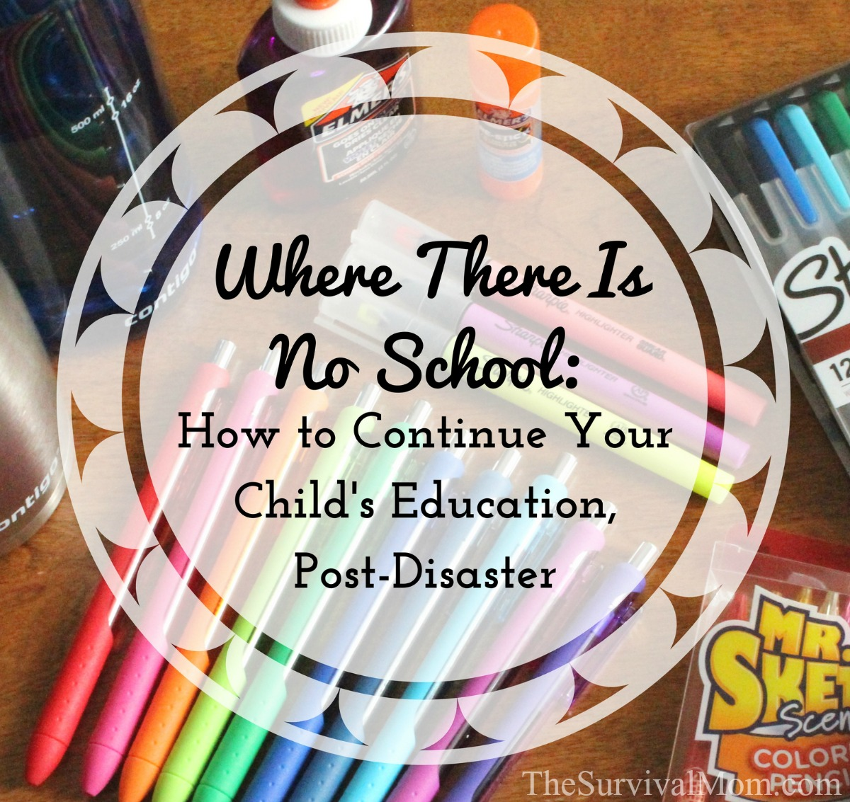 Where There Is No School How to continue your child's education post-disaster via The Survival Mom