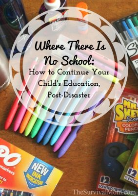Where There Is No School: How to continue your child's education post-disaster–GIVEAWAY!
