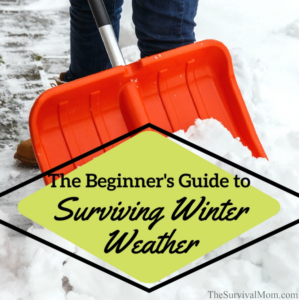 The Beginner's Guide to Surviving Winter Weather via The Survival Mom