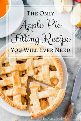 The Only Apple Pie Filling Recipe You Will Ever Need