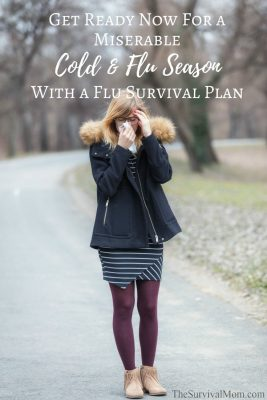 Get Ready Now For a Miserable Cold & Flu Season With a Flu Survival Plan