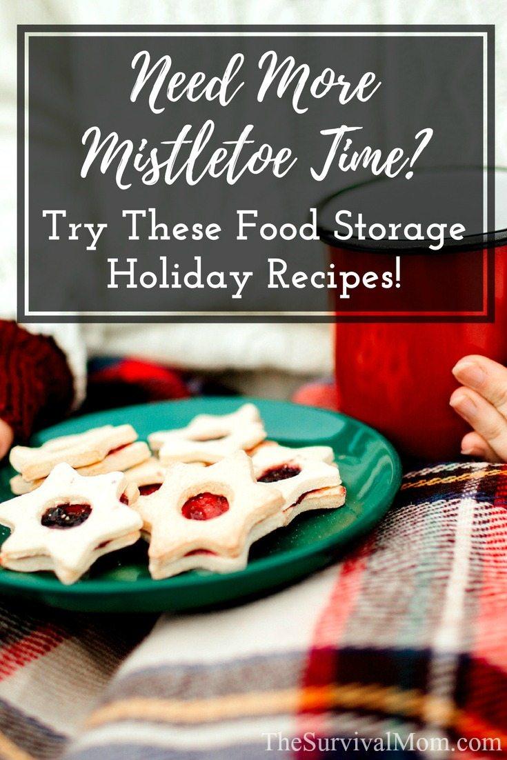 holiday food storage recipes