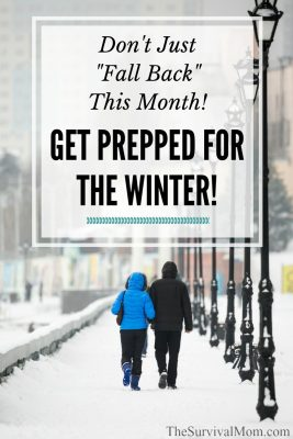 "Don't Just ""Fall Back"" This Month! Get Prepped for the Winter!"