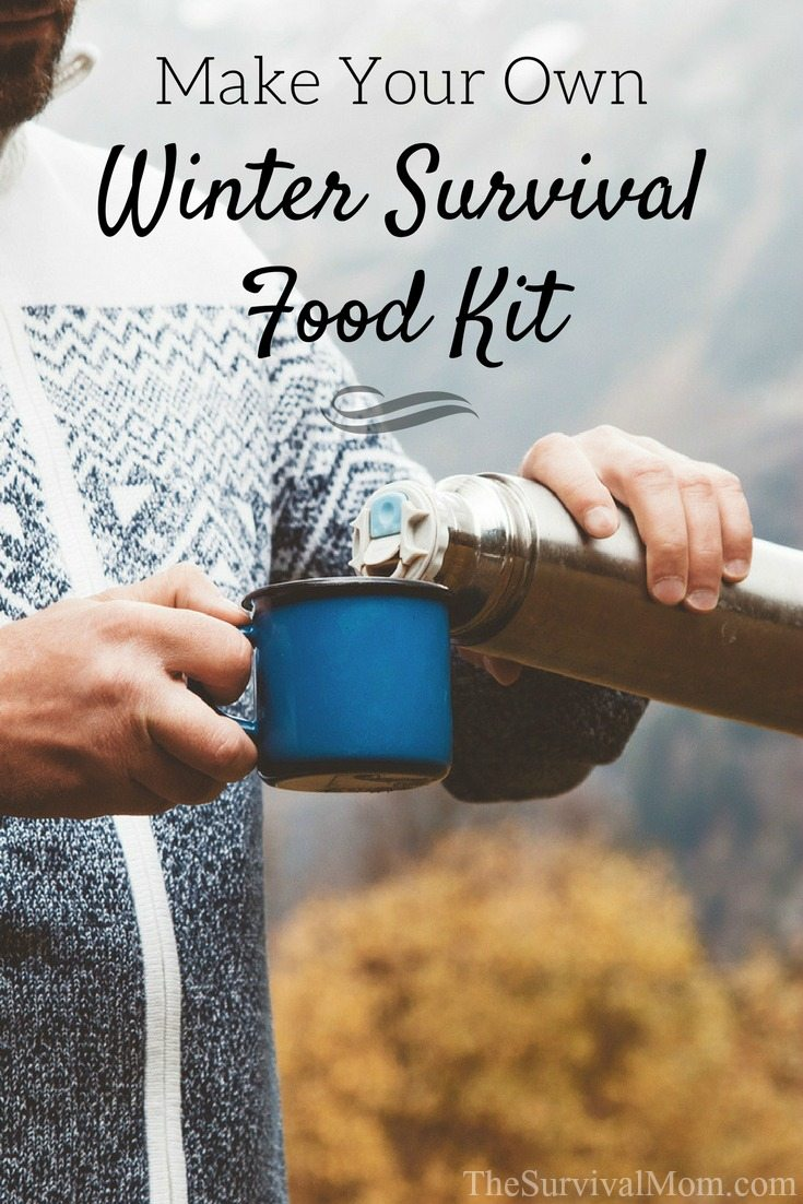 Make Your Own Winter Survival Food Kit via The Survival Mom