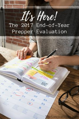 Take the 2017 End-of-Year Prepper Evaluation