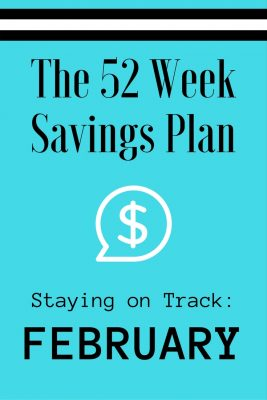 52 Weeks Savings Plan: Watch for these February bargains