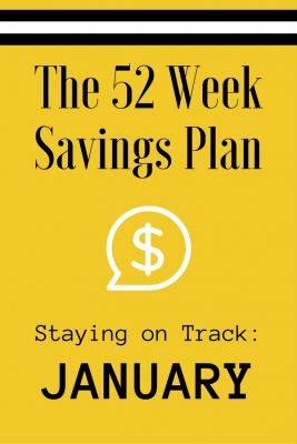 52 Weeks Savings Plan: Watch for these January bargains