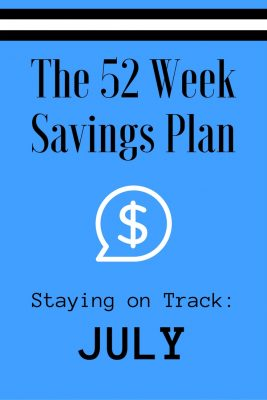 52 Weeks Savings Plan: Find Fireworks and Deals in July