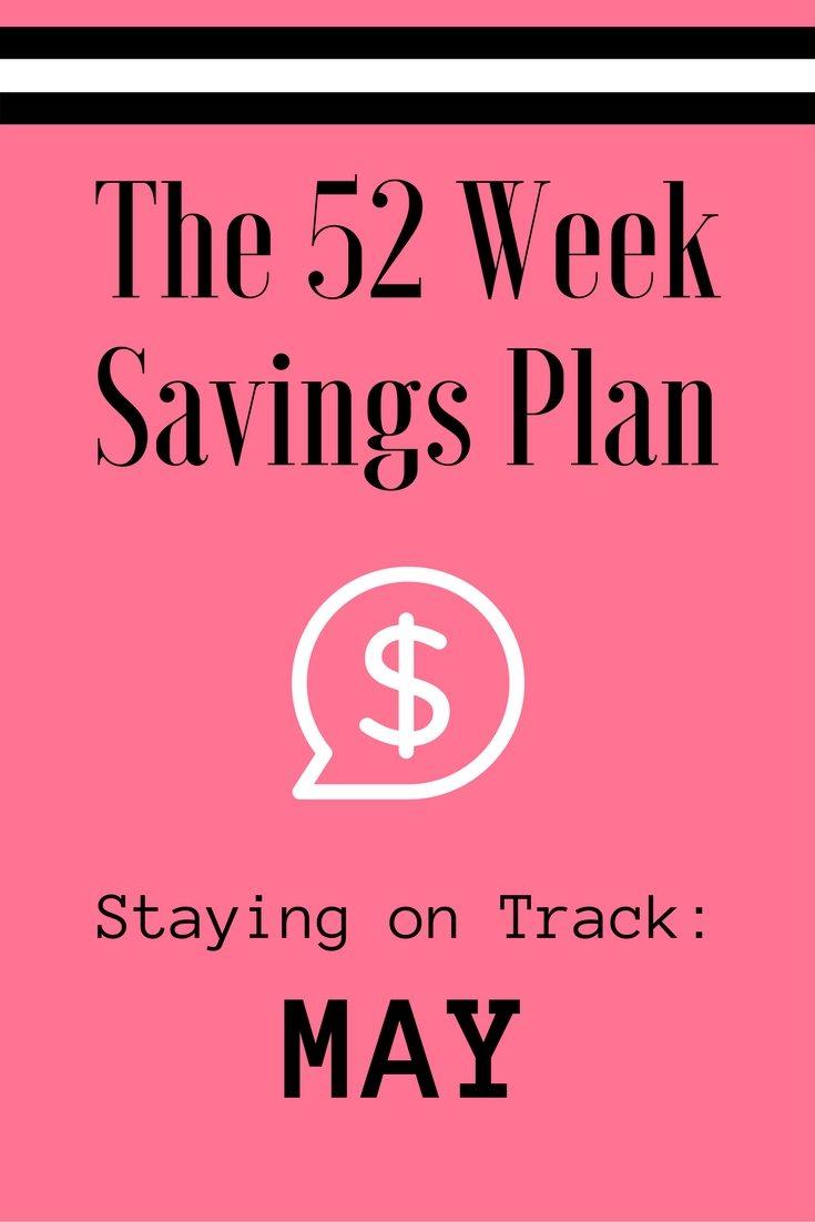 The 52 Week Savings Plan via The Survival Mom