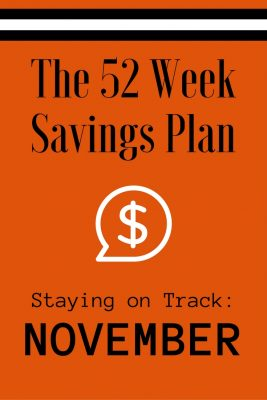 52 Weeks Savings Plan: November is full of deals