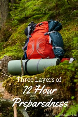 Three Layers of 72 Hour Preparedness