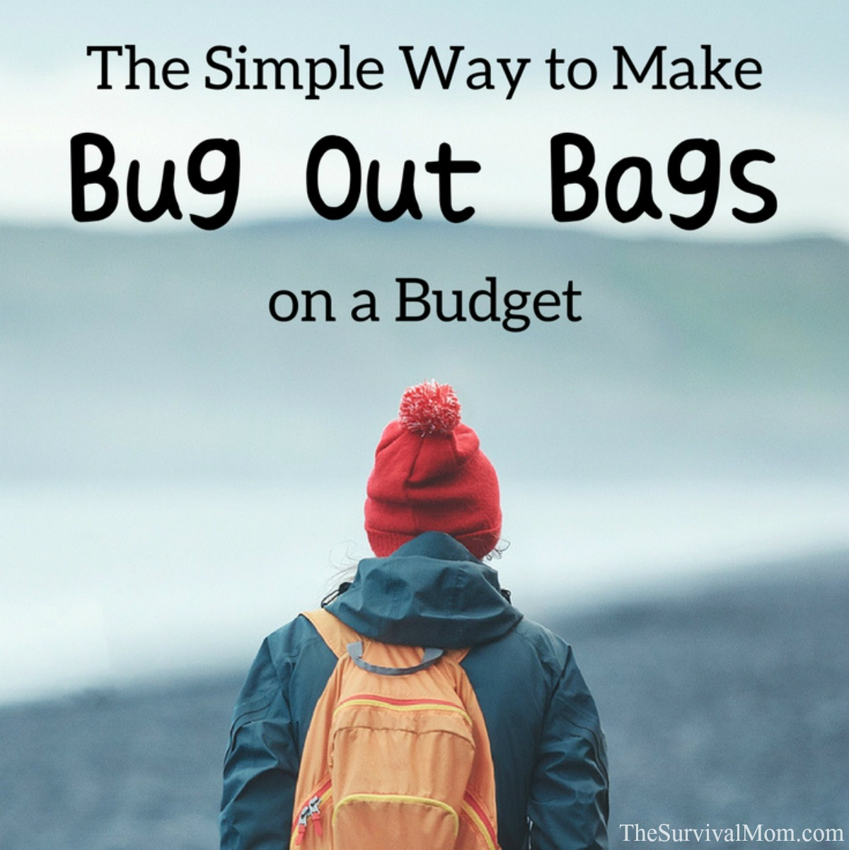 d3d5ed9bdc The Simple Way To Make Bug Out Bags on a Budget - Survival Mom