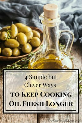 4 Simple but Clever Ways to Keep Cooking Oil Fresh Longer