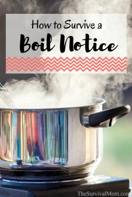 How to survive a boil notice