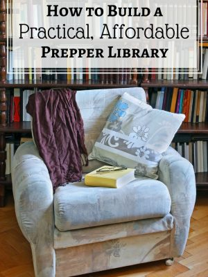 How to build a practical, affordable prepper library