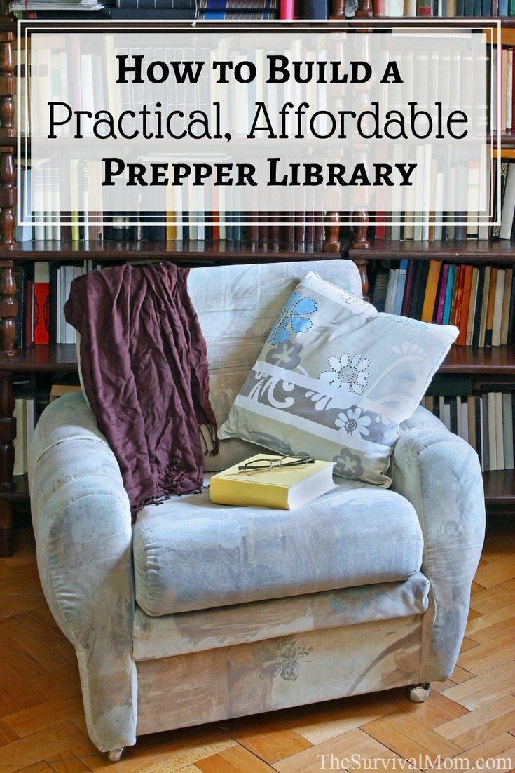 prepper library