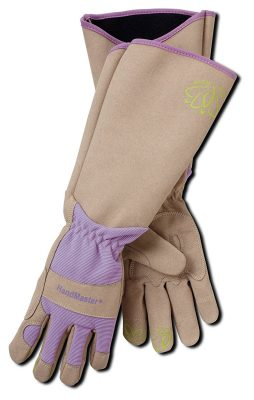 gloves for gardening, must-have gear for gardening, protect hands gardening, rosebush pruning gloves