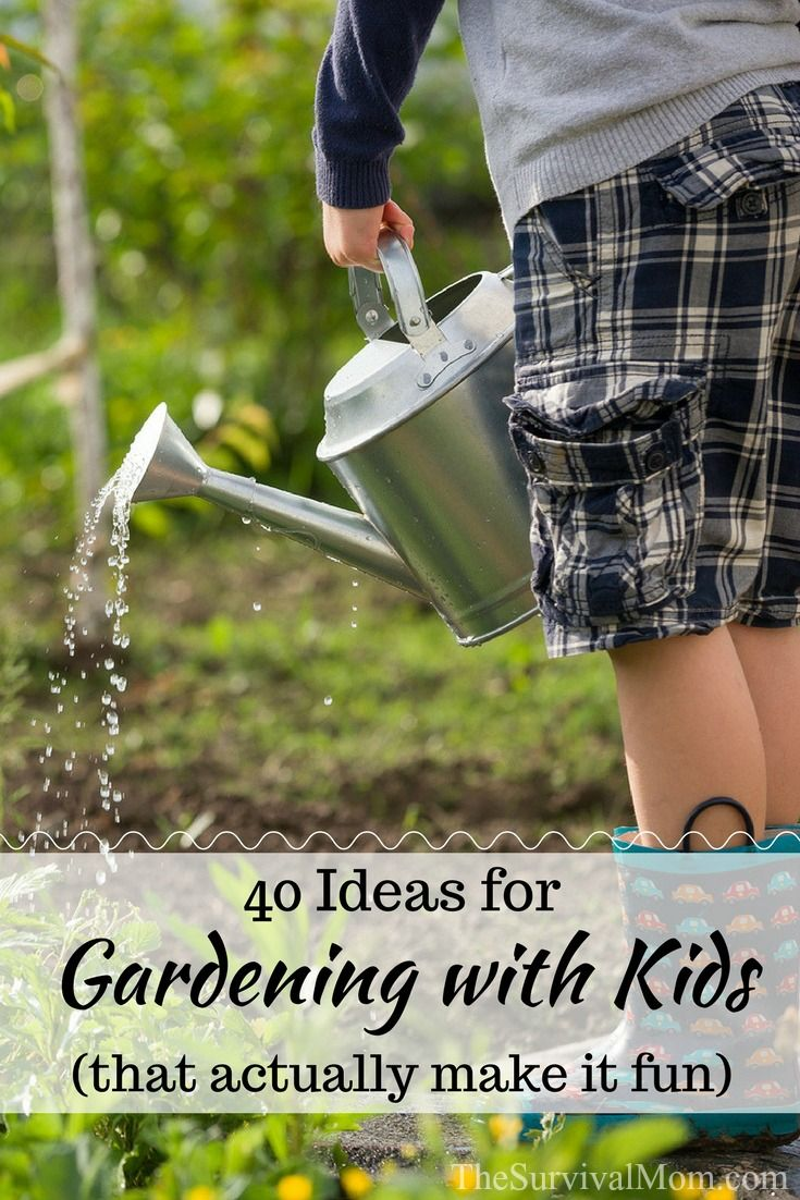 40 Ideas for Gardening with Kids that actually make it fun, kids and gardening, how to make gardening fun for kids, kids and gardening, gardening activities for kids